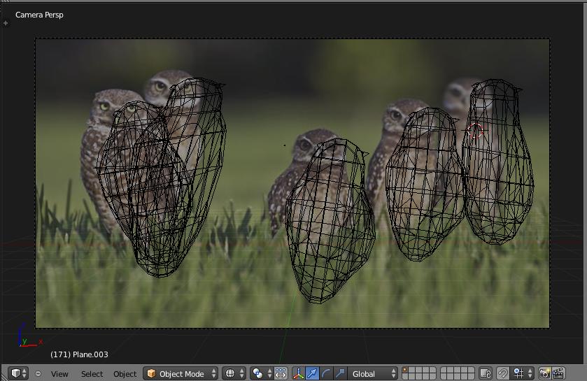 Blender MetaBalls modelling